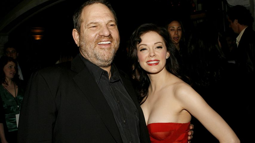 Harvey Weinstein und Rose McGowan