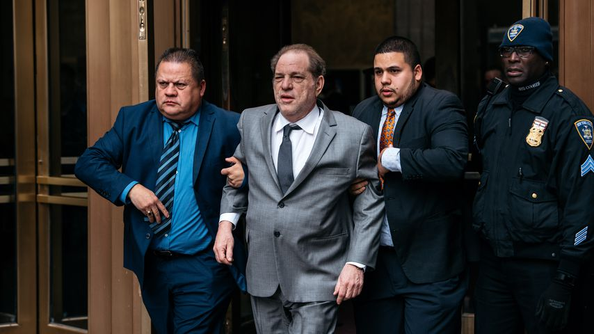 Harvey Weinstein in New York, Januar 2020