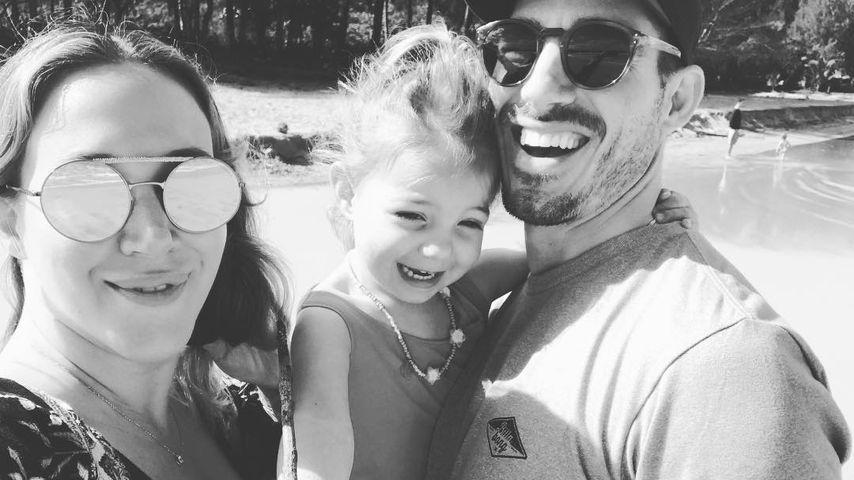 Haylie Duff mit Matt Rosenberg und Tochter Ryan