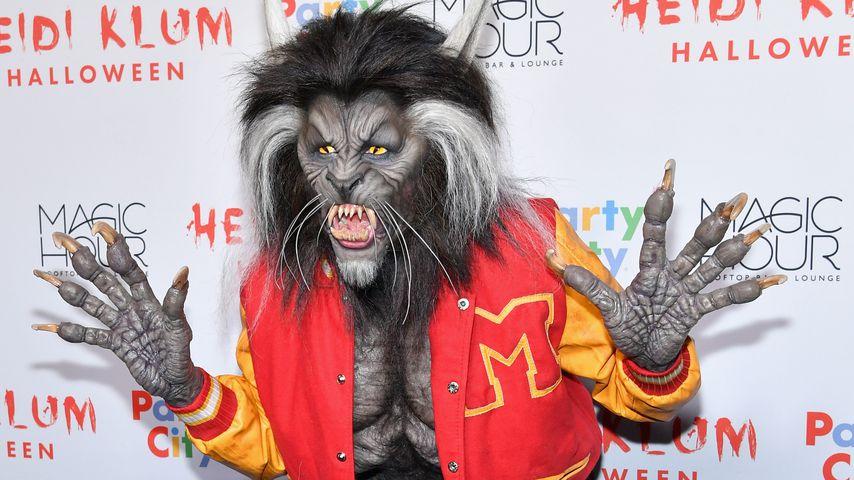 Heidi Klum in ihrem Halloween-Kostüm von 2017