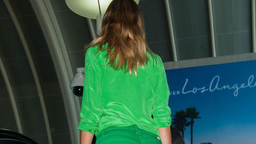 Heidi Klum am Flughafen in Los Angeles, Juli 2016