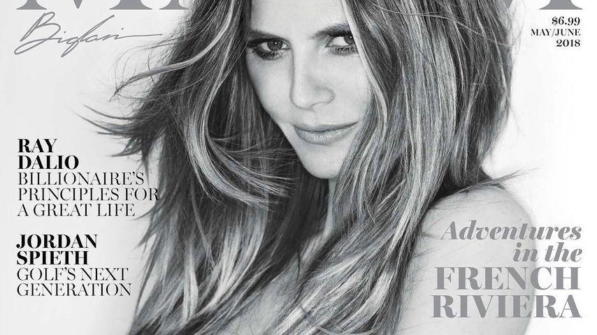 Nackt auf Magazin-Cover: Heidi Klum einfach heißer als heiß!