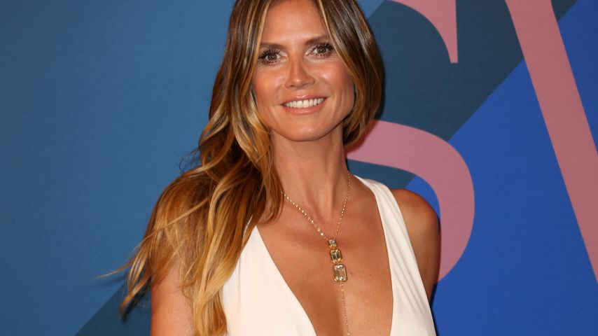 Heidi Klum bei den CFDA Fashion Awards in New York