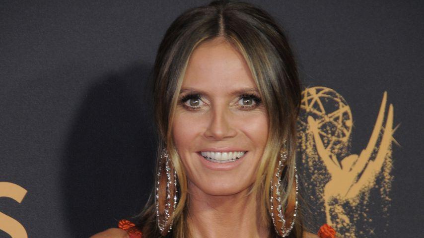 Neue Masche? Heidi Klum bei den Emmys mit Mega-Ausschnitt!