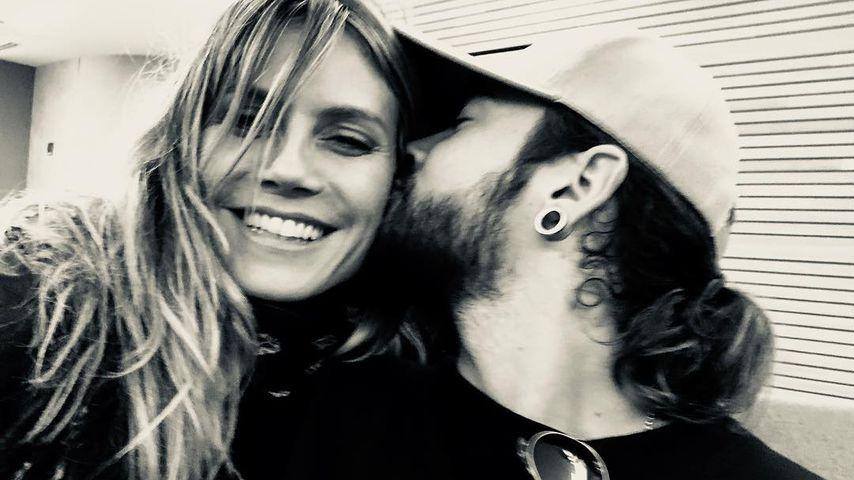 Heidi Klum mit ihrem Verlobten Tom Kaulitz