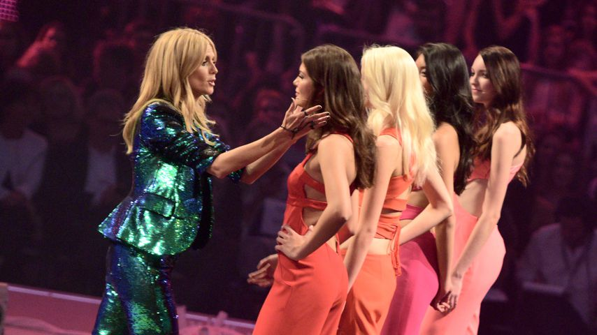 "Heidi Klum beim ""Germany's next Topmodel""-Finale 2015"