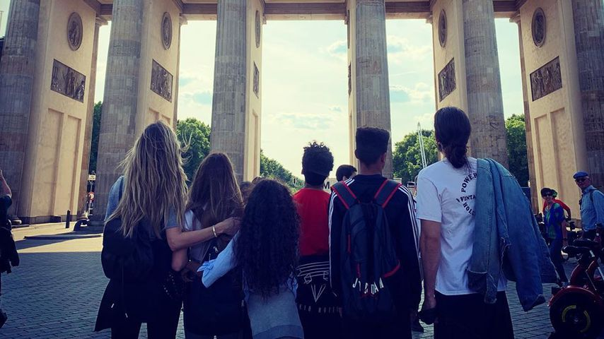 Nach GNTM-Finale: Heidi macht mit Family Berlin unsicher!