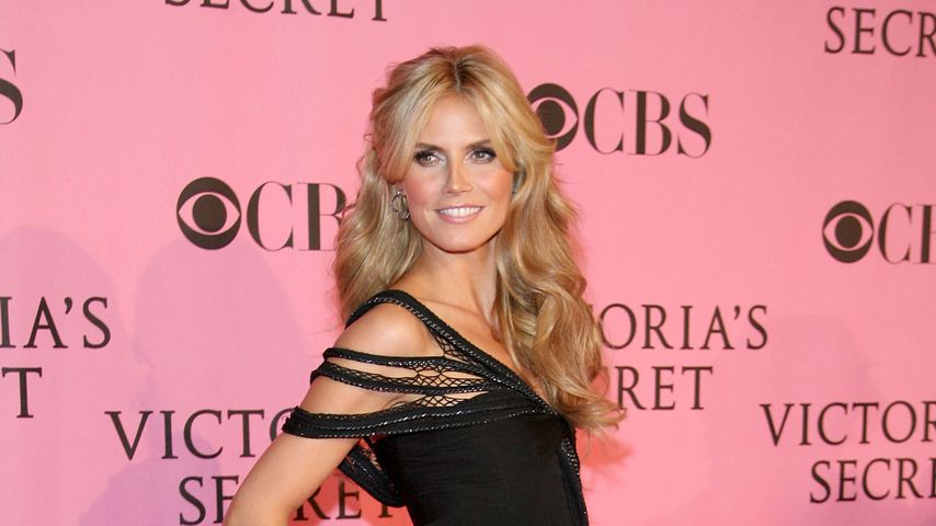 Heidi Klum bei der Victoria's Secret Fashion Show 2007