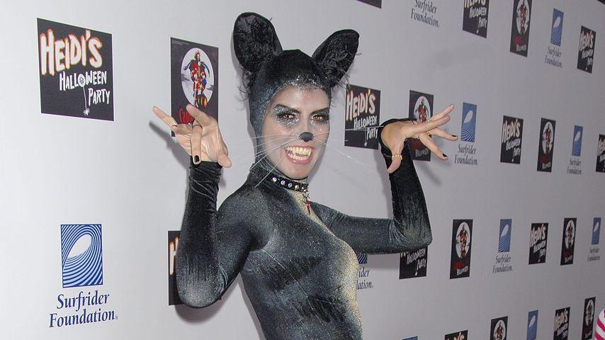 Heidi Klum auf ihrer Halloweenparty, 2007