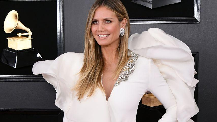 Heidi Klum bei den Grammy Awards 2019