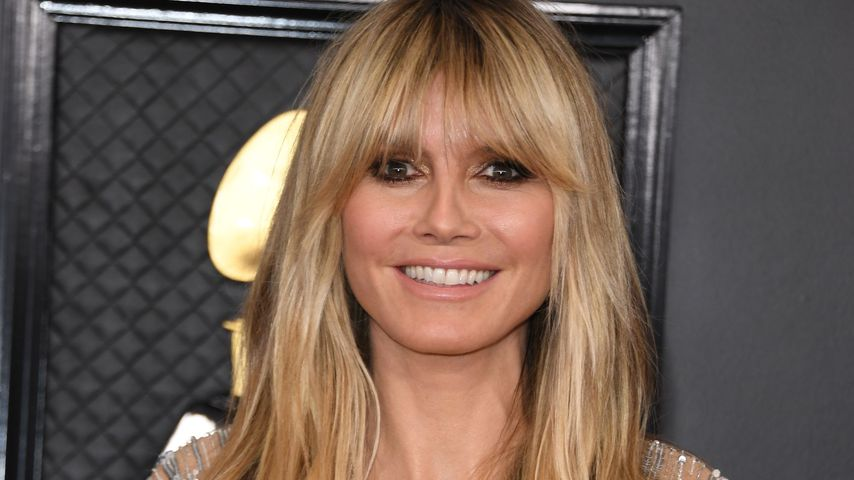 Heidi Klum bei den Grammy Awards in Los Angeles im Januar 2020
