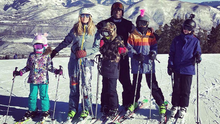 Heidi Klum mit ihren Kids und Ex-Mann Seal in Aspen, Dezember 2016