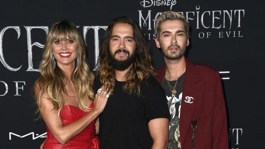"""Heidi Klum mit Tom und Bill Kaulitz bei der Premiere von """"Maleficent 2: Mächte der Finsternis"""""""