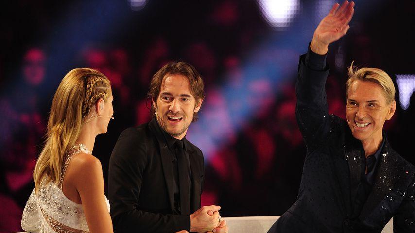 Heidi Klum, Thomas Hayo und Wolfgang Joop 2014