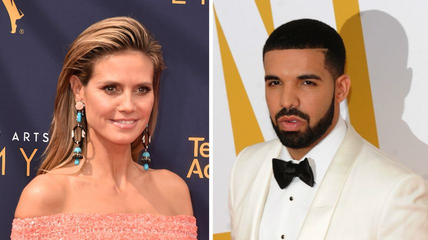 Eiskalte Abfuhr: Model Heidi Klum wollte kein Date mit Drake