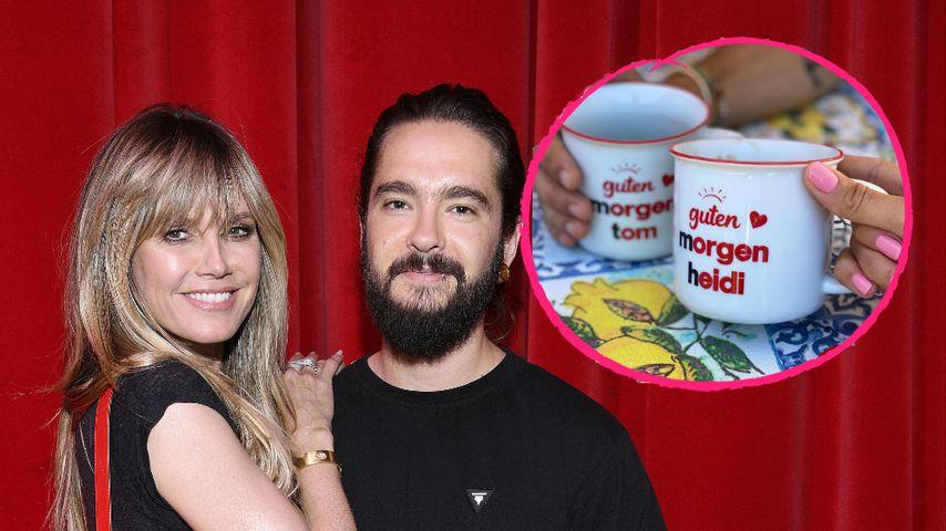 Süß! Heidi Klum und Tom Kaulitz haben Partner-Tassen