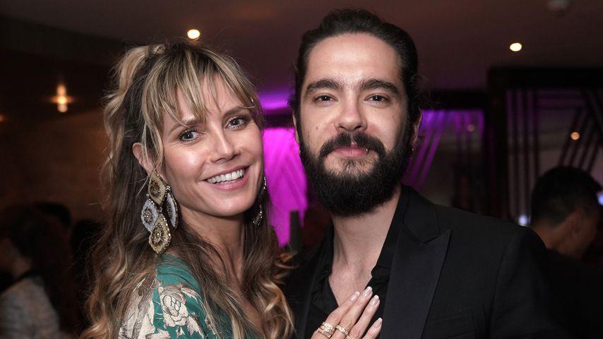 Heidi Klum und Tom Kaulitz im März 2019