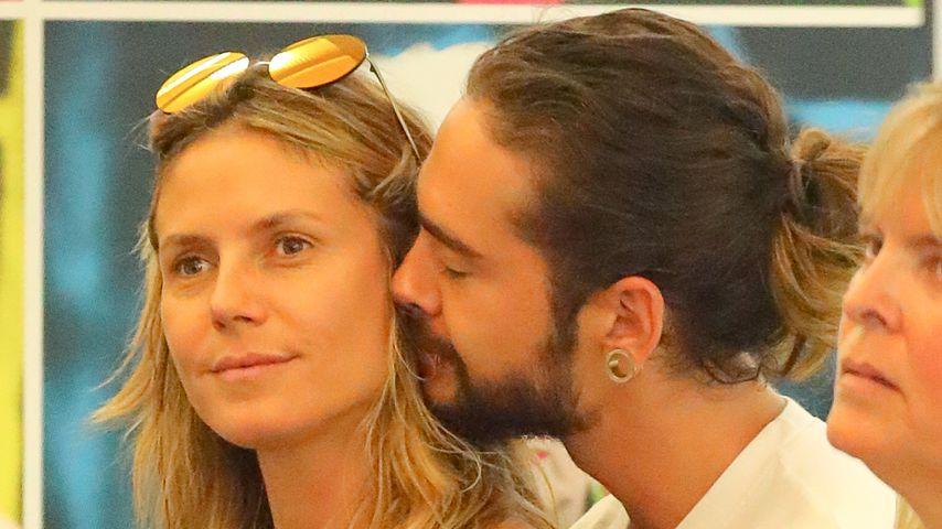 Unzertrennlich: Heidi & Tom kuscheln sogar im Softeis-Laden!