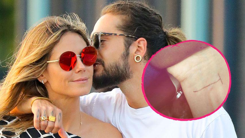Liebesbeweis für Tom: Hat Heidi Klum jetzt ein T-Tattoo?