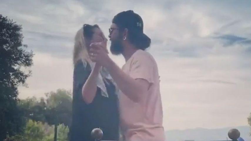 Heidi Klum und Tom Kaulitz beim Tanzen
