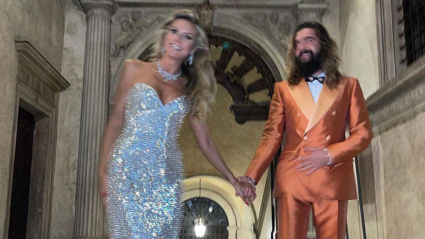 Heidi Klum und Tom Kaulitz in Venedig