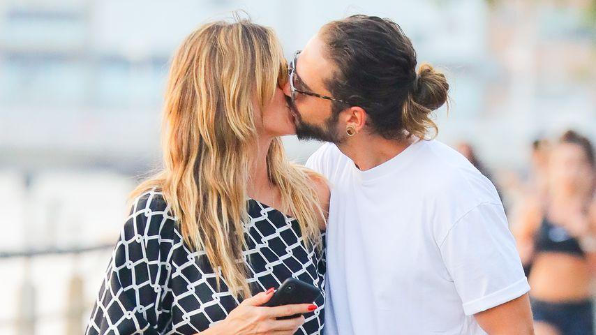 Heidi Klum & Tom Kaulitz verliebt: Heiße Küsse in New York!
