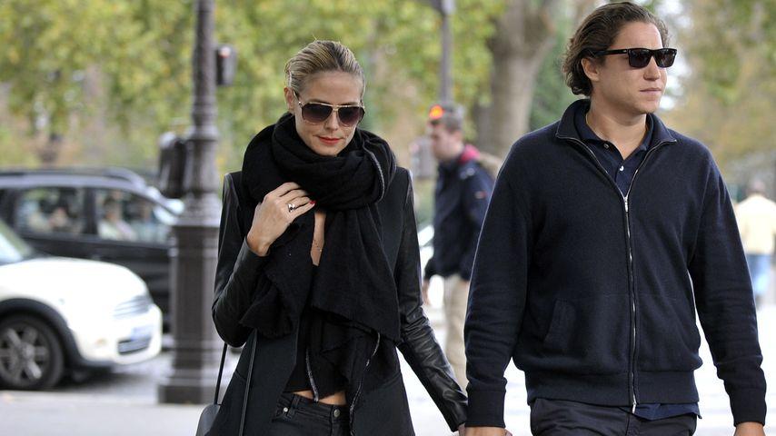 Im Partnerlook: Heidi & Vito turteln durch Paris