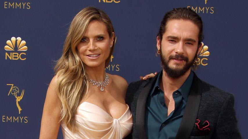 Heidi Klum und Tom Kaulitz bei den Emmy Awards 2018