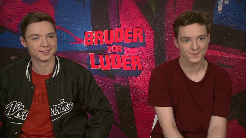 """Die Lochis: So spannend war der """"Bruder vor Luder""""-Dreh"""