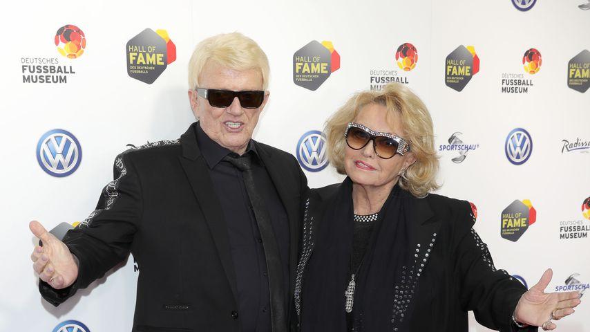 Heino mit seiner Frau Hannelore Kramm im April 2019
