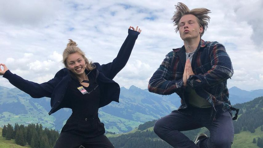 Helen und Gabriel Kelly in Kitzbühel, Juli 2020