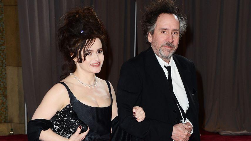 Helena Bonham Carter und Tim Burton, 2013 bei den Oscars