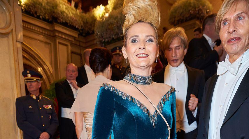 Helena Fürst beim Wiener Opernball