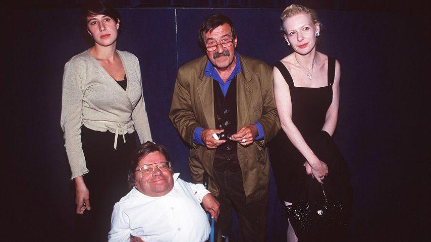 Helene Grass, Peter Radtke, Günter Grass und Sunnyi Melles