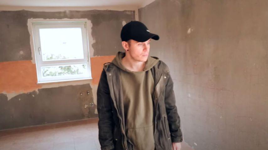 Henning Merten im neuen Haus