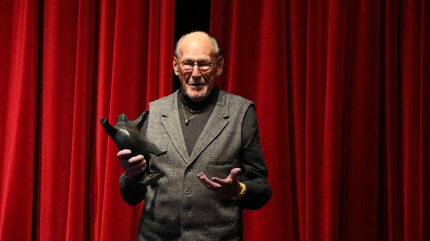 Herbert Köfer beim B.Z.-Kulturpreis, 2021