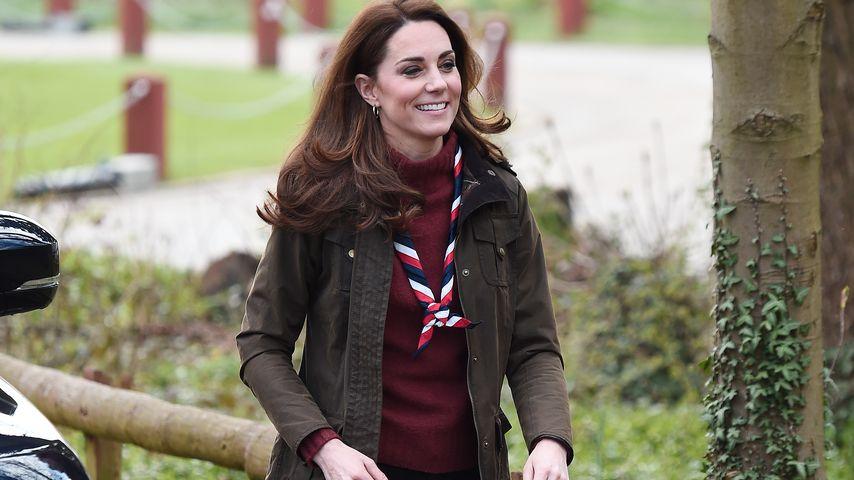 Herzogin Kate bei einer Pfadfinder-Veranstaltung im März 2019