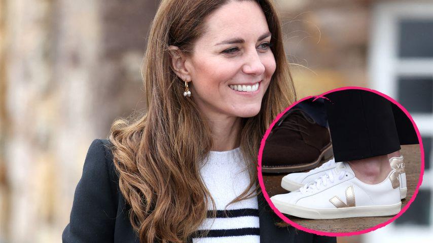 Ließ sich Kate bei diesen Schuhen von Meghan inspirieren?