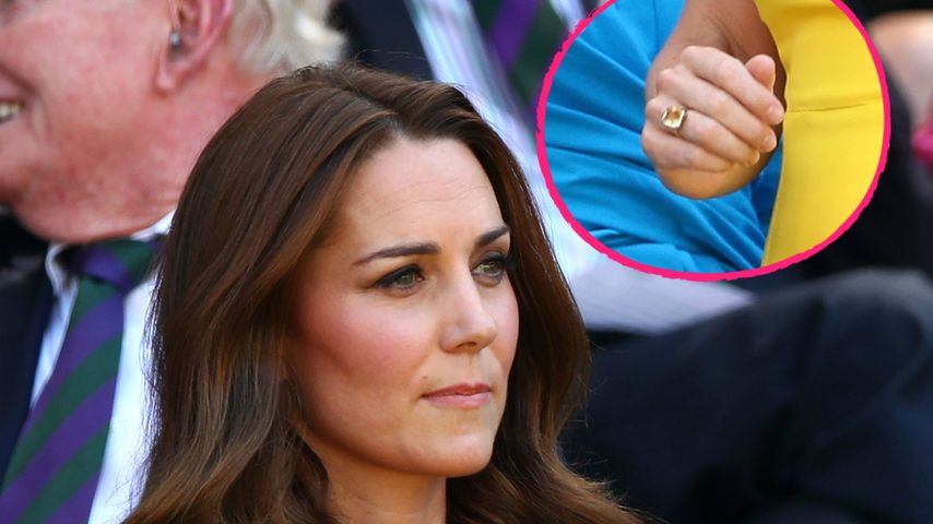 Treuer Begleiter: Diesen Ring hat Herzogin Kate schon ewig!