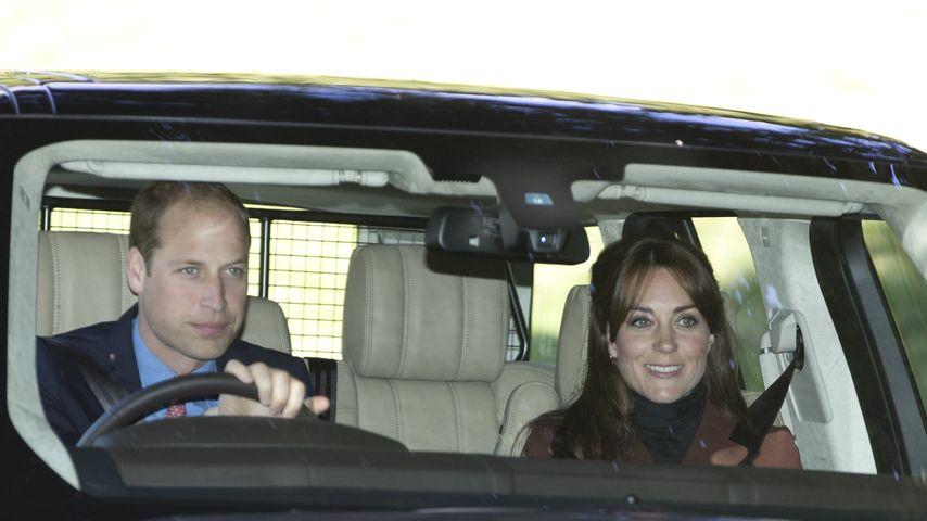 1. Blick auf Kate & William: So fahren sie zu Pippas Heirat