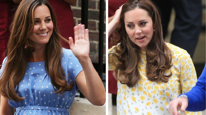 Bauch-Vergleich: Herzogin Kate setzt dieses Mal auf Tarnung!