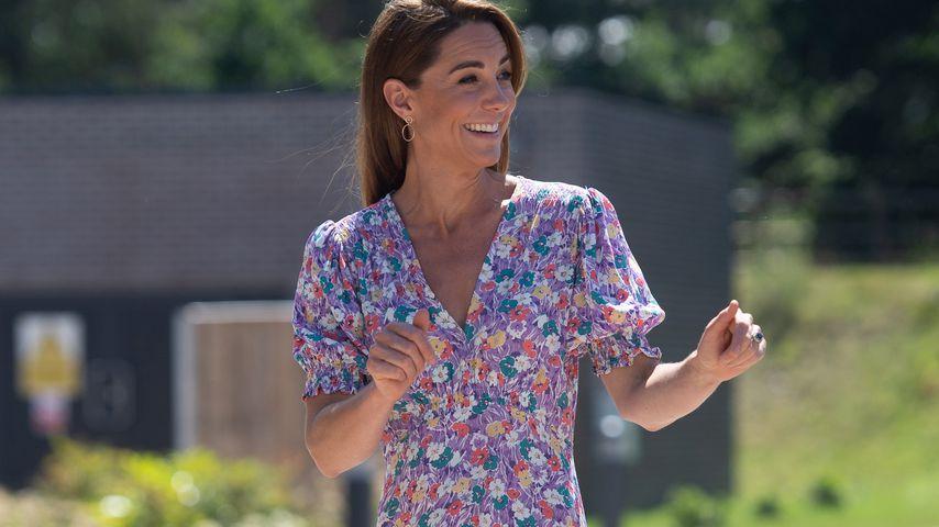 Herzogin Kate in Framlingham Earl im Juni 2020