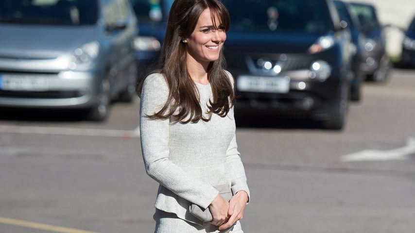 Im hautengen Dress: Kein Baby-Bauch bei Herzogin Kate!