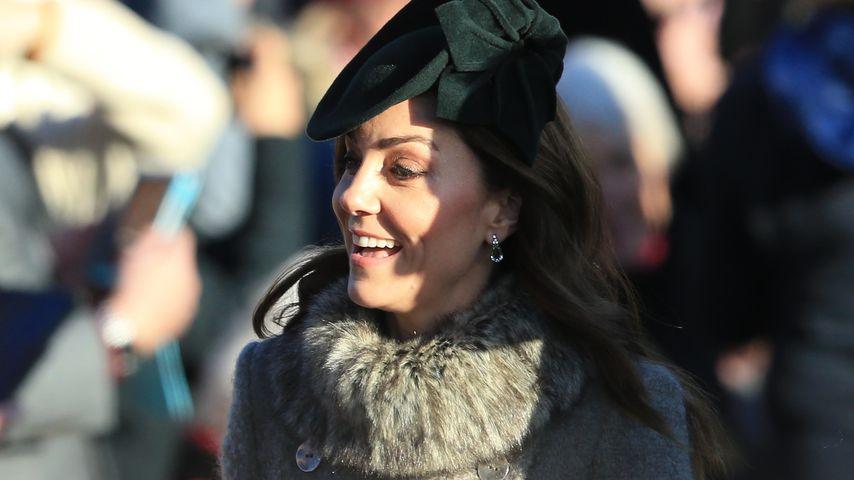 Herzogin Kate bezaubert beim alljährlichen Royal-Kirchgang