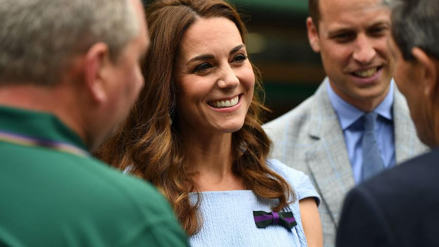 Herzogin Kate beim Wimbledon-Finale in London, 2019