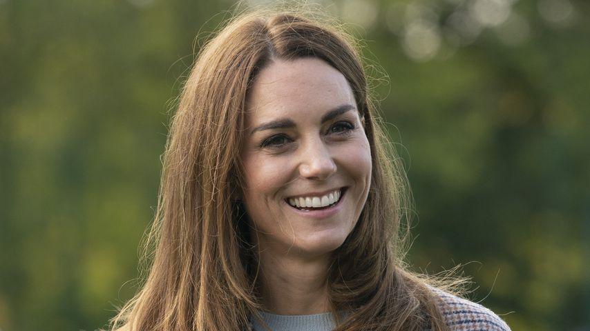 Oversize-Mantel: Herzogin Kate präsentiert ihren Herbst-Look
