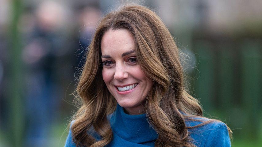 Herzogin Kate während ihrer Tour durch England