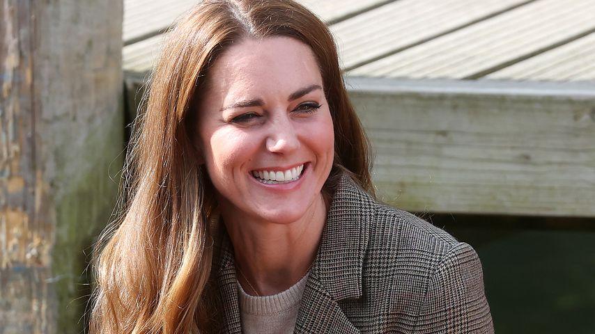 Plötzliche Haarpracht: Trägt Herzogin Kate etwa Extensions?