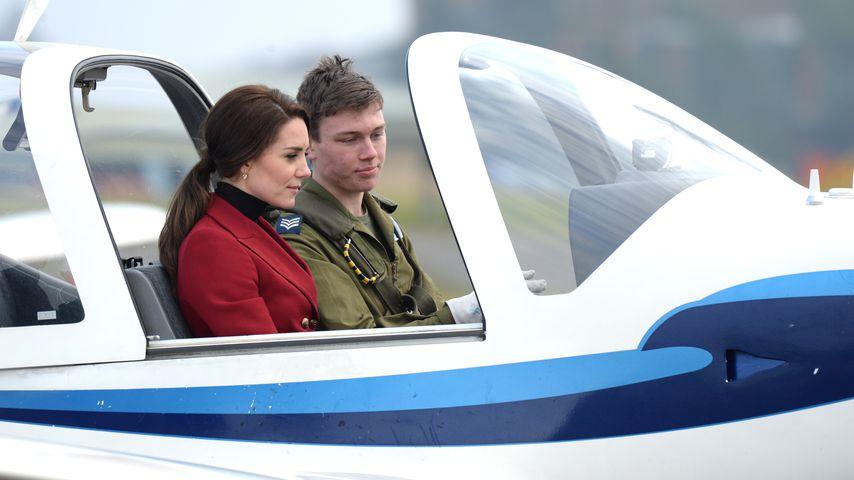 Herzogin Kate hebt ab: Gibt es bald die 1. Royal-Pilotin?