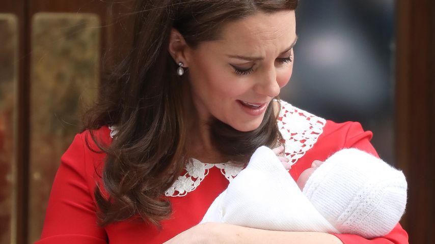 Wenige Stunden nach Geburt: So stylish strahlt Neu-Mom Kate